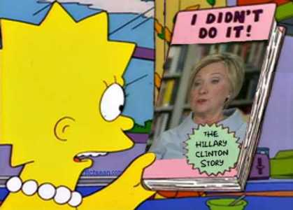 ! I Didn't Do It - The Hillary Clinton Story