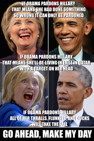! If Obama Pardons Hillary
