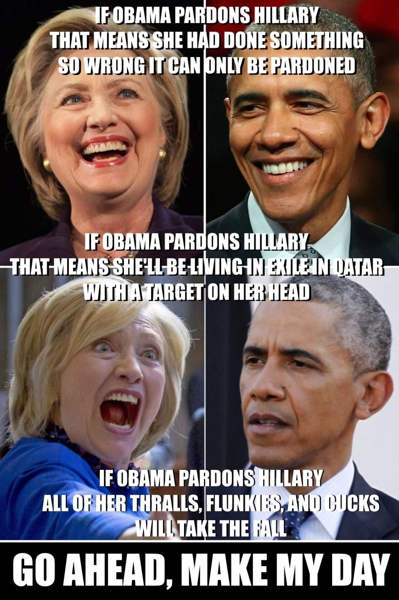 If Obama Pardons Hillary