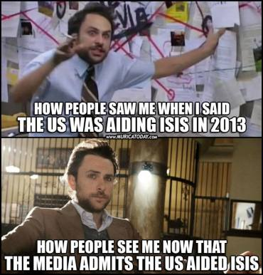 ! ISIS how they see me then and now Conspiracy Theorist