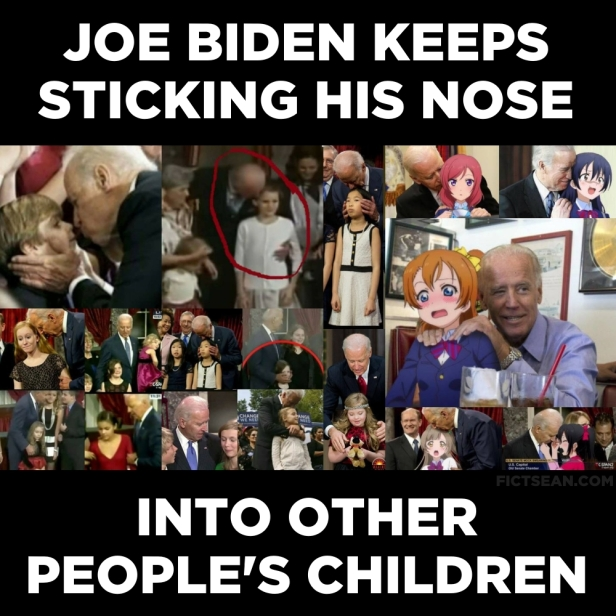 ! Joe Biden Keeps Sticking His Nose Into Other Peolpe's Children