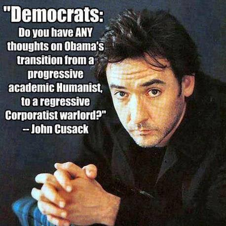 John Cusak on Obama