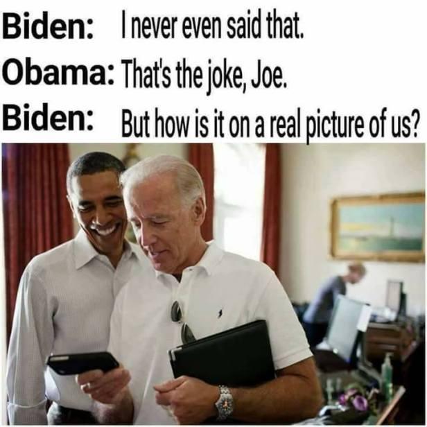Joke's on Joe Biden Memes