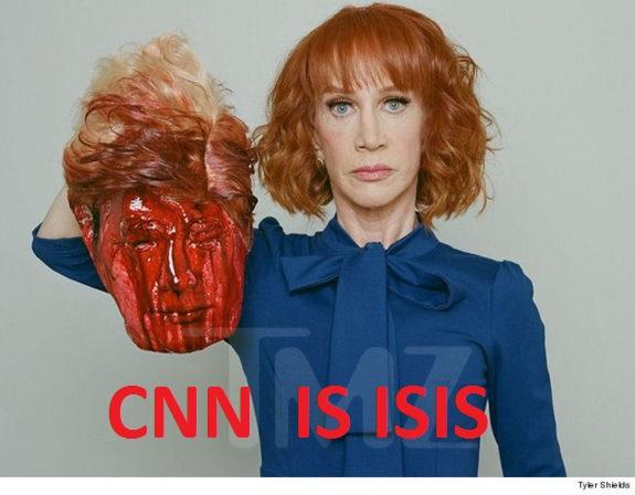 Kathy Griffin Beheaded Trump CNN is ISIS