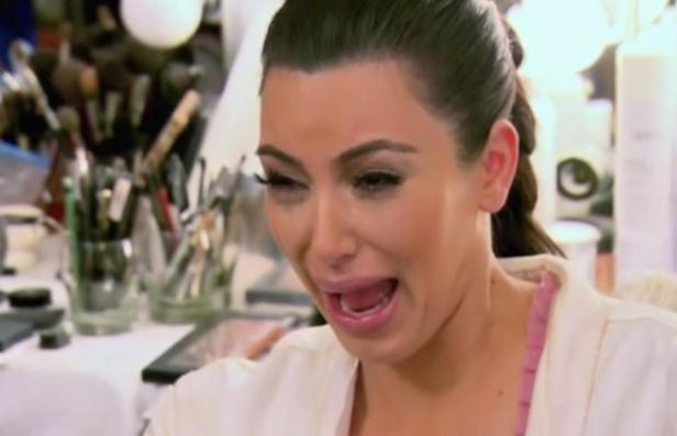 Kim Kardashian Crying Photo