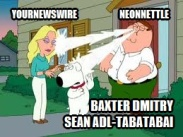 Laughing Nose Milk Family Guy YourNewsWire NeonNettle