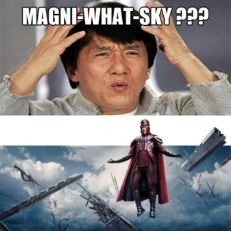 Magnitsky Mani-WHAT-Sky Magneto Superhero With Jackie Chan