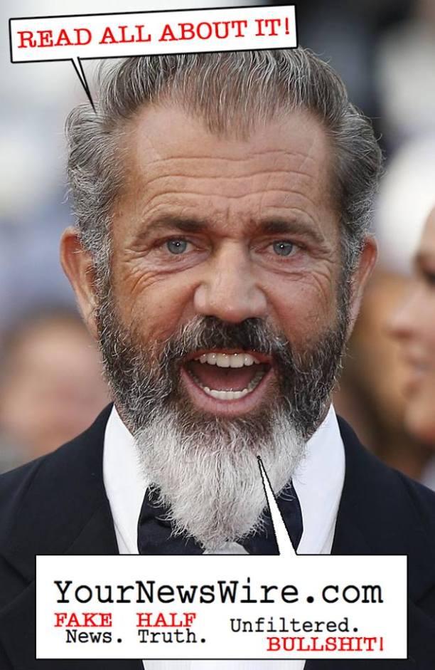 Mel Gibson YourNewsWire