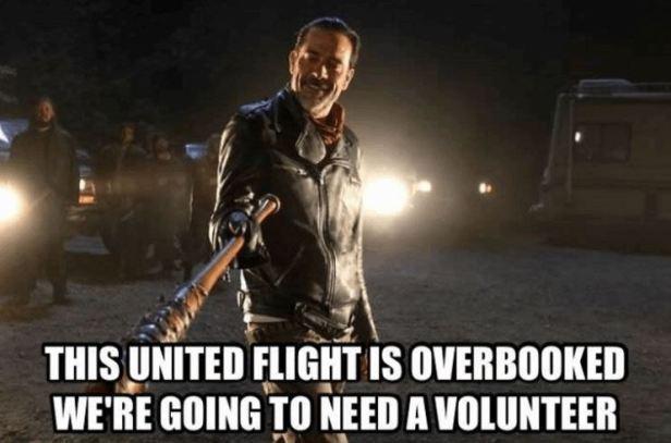 Neegan United-Airlines-Meme-1