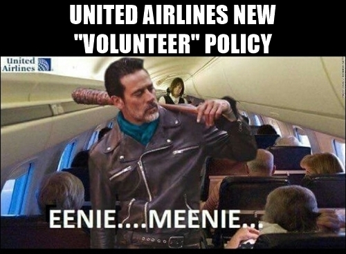neegan united-airlines-new-volunteer-policy