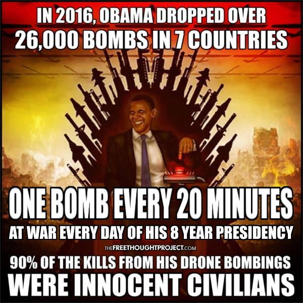 ! ! Obama Bombs One Every 20 Minutes
