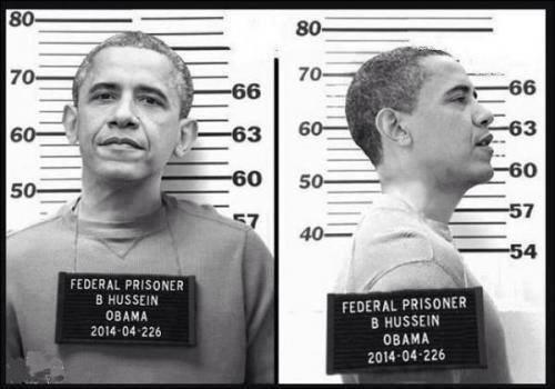 Obama Mug Shots Jail Prison