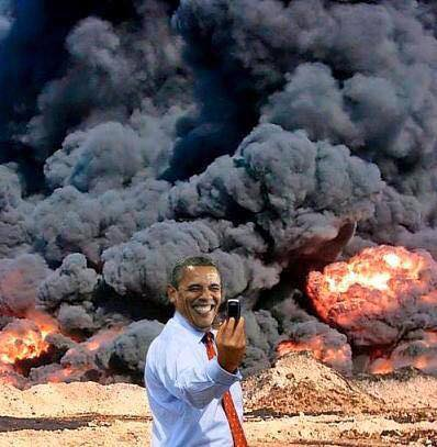 Obama My work here is done 1 Selfie