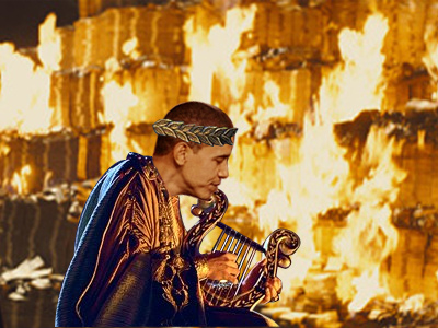 Obama Nero Rome Burning