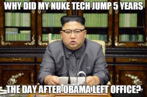 Obama North Korea Nuke Tech Jumped when Obama Left