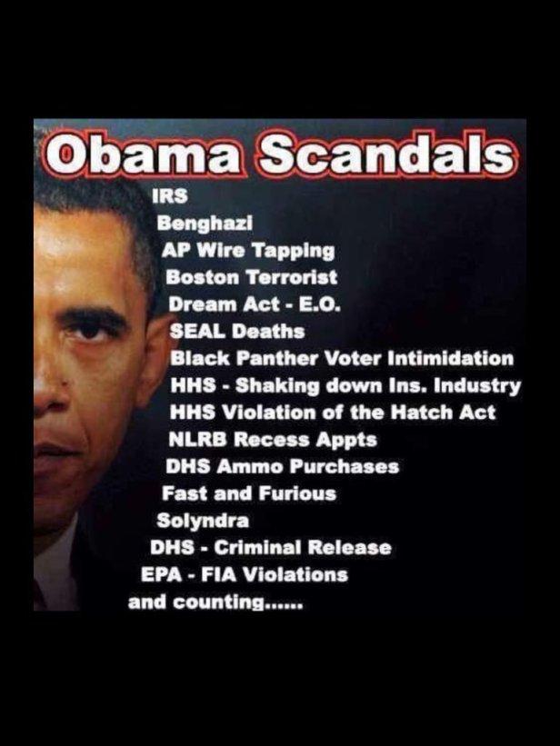 Obama Scandals 1