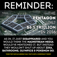 ! Pentagon Lost 6.5 Trillion in 2016