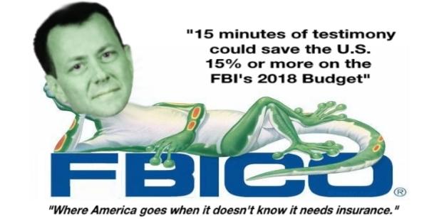 Peter Strzok Geico Gecko Insurance FBICO BANNER
