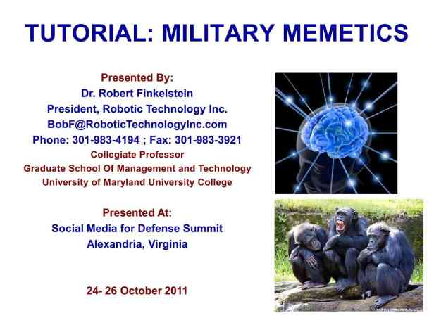 Presentation Military Memetics Tutorial 13 Dec 111