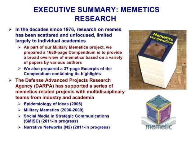 Presentation Military Memetics Tutorial 13 Dec 1110