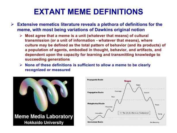 Presentation Military Memetics Tutorial 13 Dec 1122