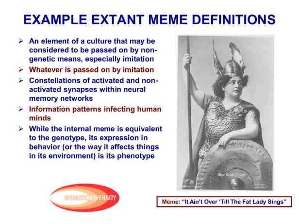 Presentation Military Memetics Tutorial 13 Dec 1124