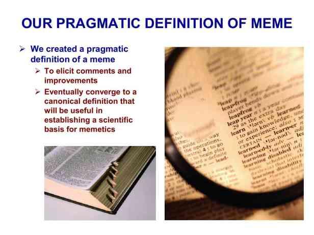 Presentation Military Memetics Tutorial 13 Dec 1133
