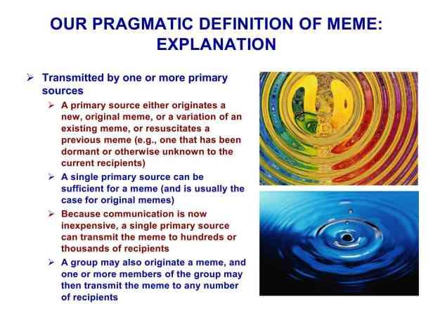 Presentation Military Memetics Tutorial 13 Dec 1137