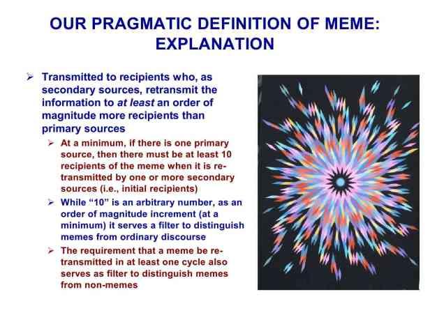 Presentation Military Memetics Tutorial 13 Dec 1138
