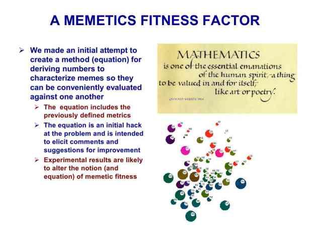 Presentation Military Memetics Tutorial 13 Dec 1162