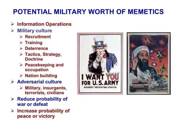 Presentation Military Memetics Tutorial 13 Dec 1178
