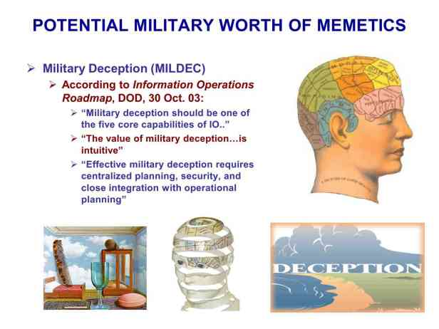 Presentation Military Memetics Tutorial 13 Dec 1185
