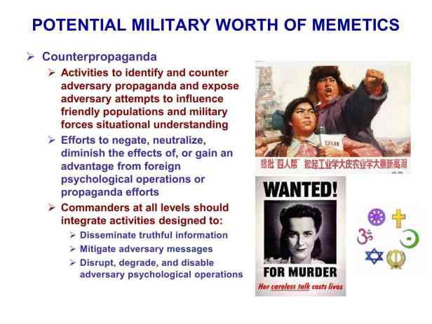 Presentation Military Memetics Tutorial 13 Dec 1186