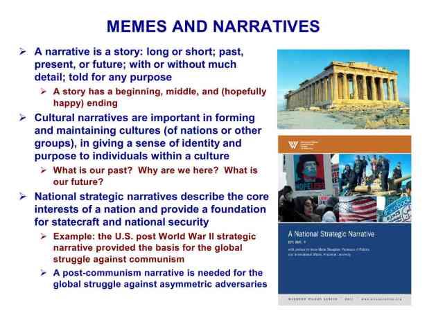 Presentation Military Memetics Tutorial 13 Dec 1199