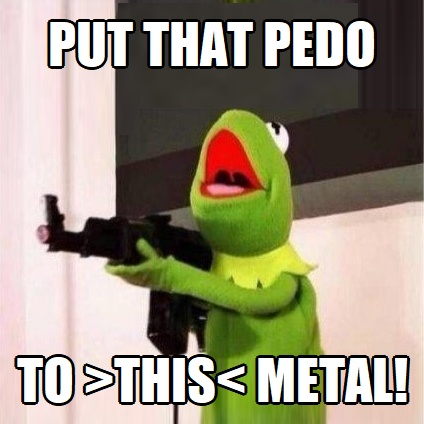 ! Put the Pedo to the Metal Pedal Medal2