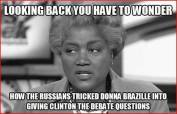 Russian's Trick Donna Brazile Debate Questions