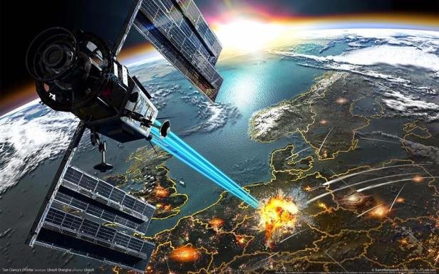 SkyNet Satellite California Fires Laser from Space