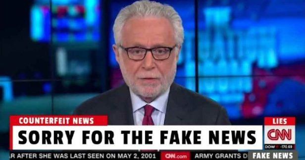 ! Sorry for the Fake News CNN