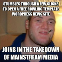 Takes down MSM Rowland Wordpress Template