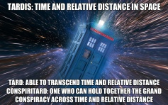 ! TARDIS CONSPIRITARDIS Defined