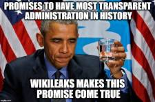 ! Transparency thanks to Wikileaks