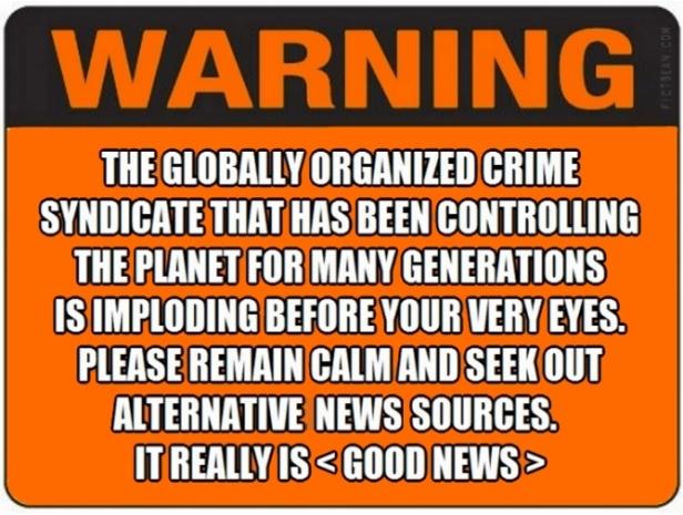! Warning Orange with Black Topjpg