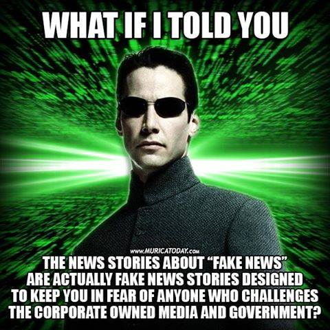 What if Keanu - Fake News Story is Fake News MATRIX