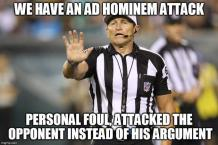 Ad Hominem Personal Attack 1
