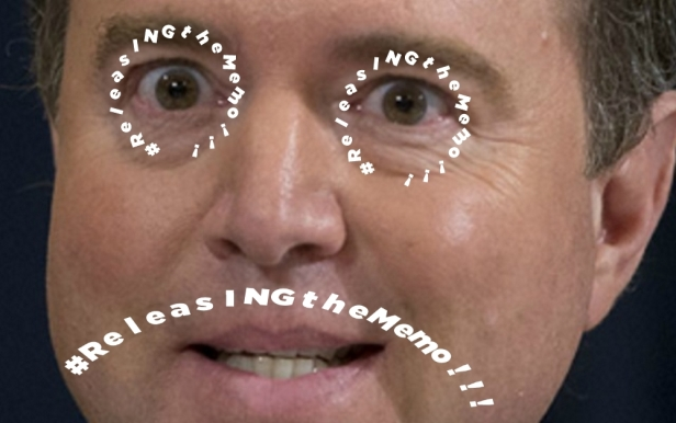 Adam-Schiff-Crazy-Looking ReleasINGtheMemo