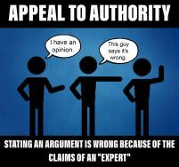 Appeal to Authority b