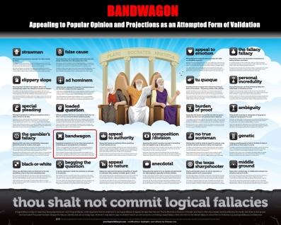 Bandwagon Thou Shalt Not Commit Logical Fallacies