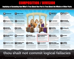 Composition - Division Thou Shalt Not Commit Logical Fallacies