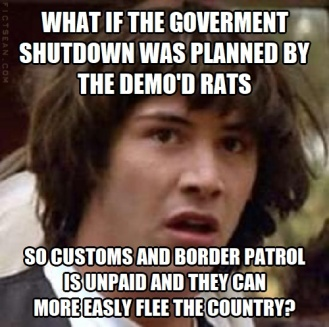 Conspiracy Keanu Atlanta Government Shutdown to Flee the Country
