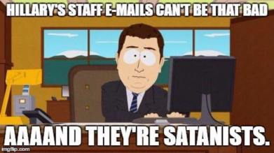 Emails can't be that bad - Satanists